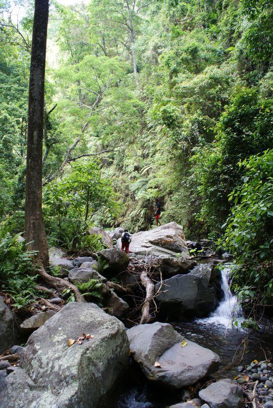 Tajnou cestou k vodopádům - Indonésie- Lombok