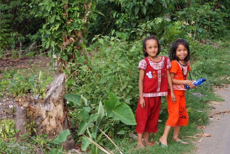 úsměv je všude - Indonésie- Lombok