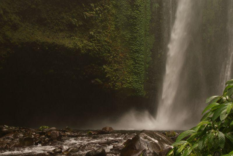 Vodopád poblíž Senaru 3 - Indonésie- Lombok