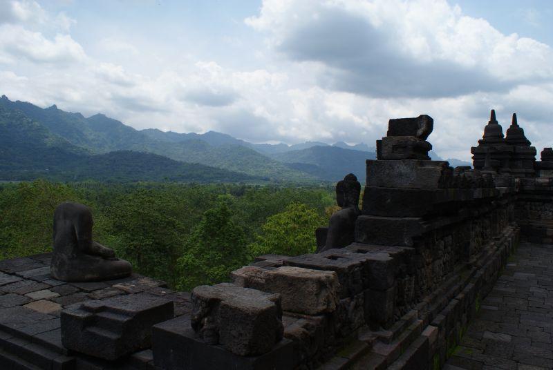 Borobudur # - Indonésie- Yogyakarta
