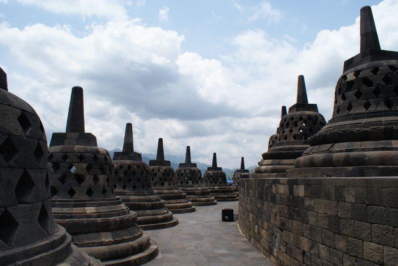 Borobudur 1 - Indonésie- Yogyakarta