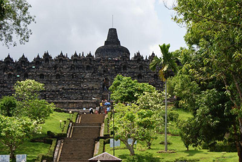 Borobudur 4 - Indonésie- Yogyakarta