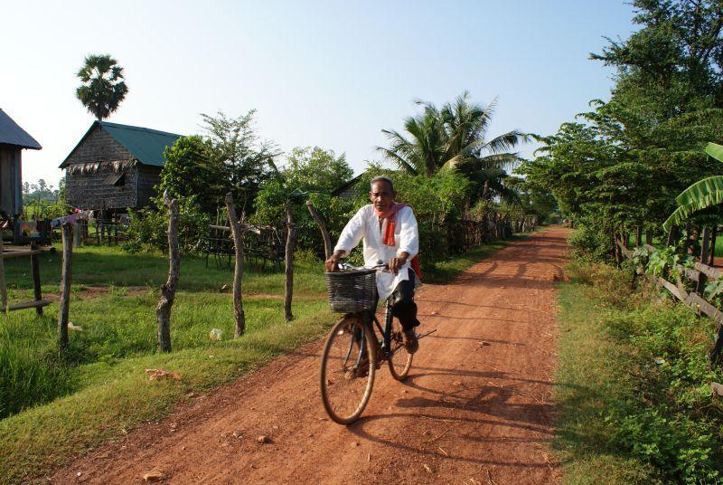 Cyklista - Kambodža- Phnompenh a okolí
