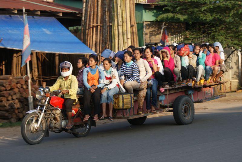 Fascinující doprava 3 - Kambodža- Phnompenh a okolí