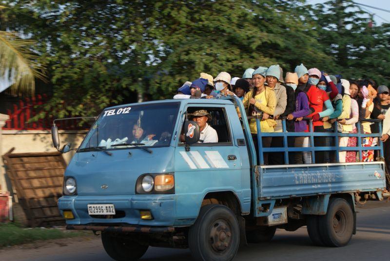 Fascinující doprava 4 - Kambodža- Phnompenh a okolí