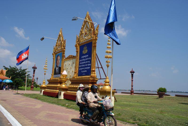 Může nás jet i víc - Kambodža- Phnompenh a okolí