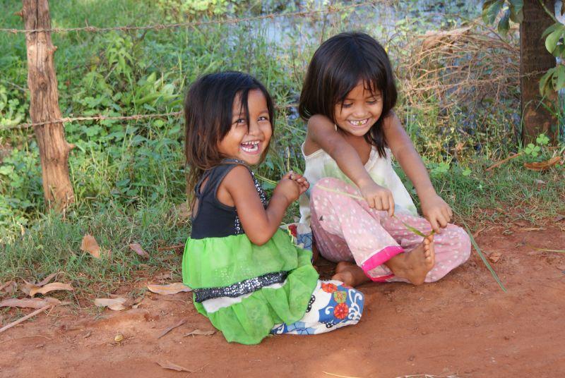 Nejkrásnější úsměv - Kambodža- Phnompenh a okolí