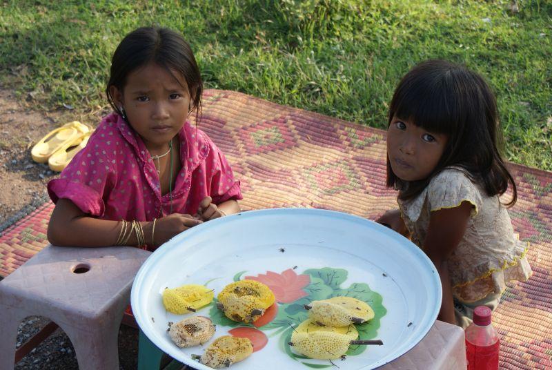 Pocestné prodavačky - Kambodža- Phnompenh a okolí