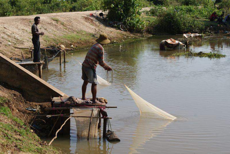 Rybáři - Kambodža- Phnompenh a okolí
