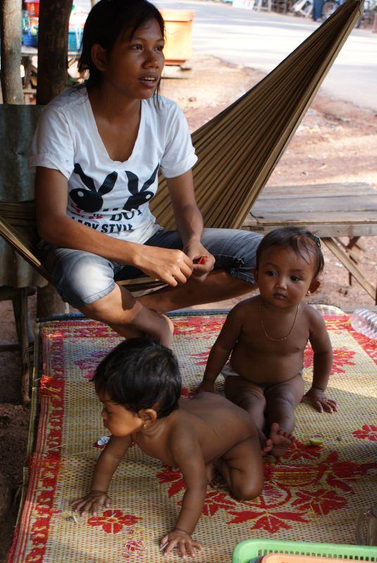 Sestřičky - Kambodža- Phnompenh a okolí