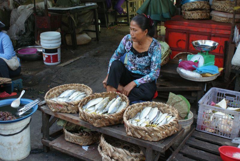 Tržiště 6 - Kambodža- Phnompenh a okolí