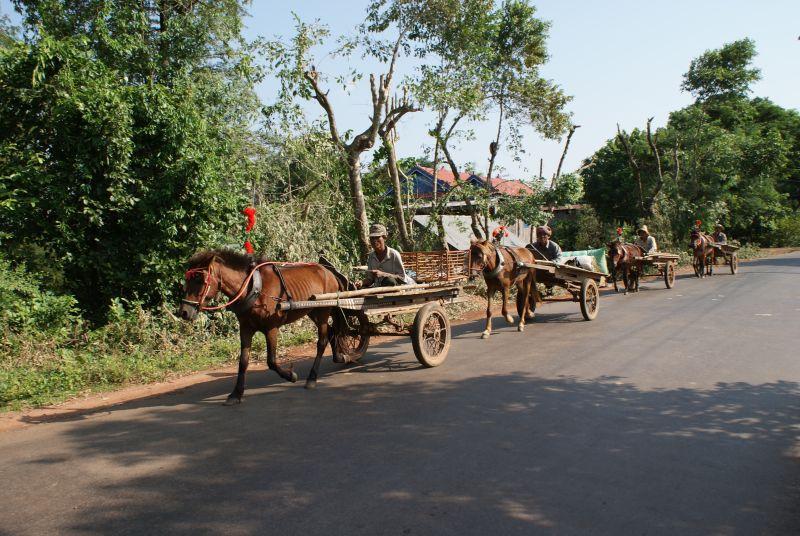 Vesnická jízda II - Kambodža- Phnompenh a okolí