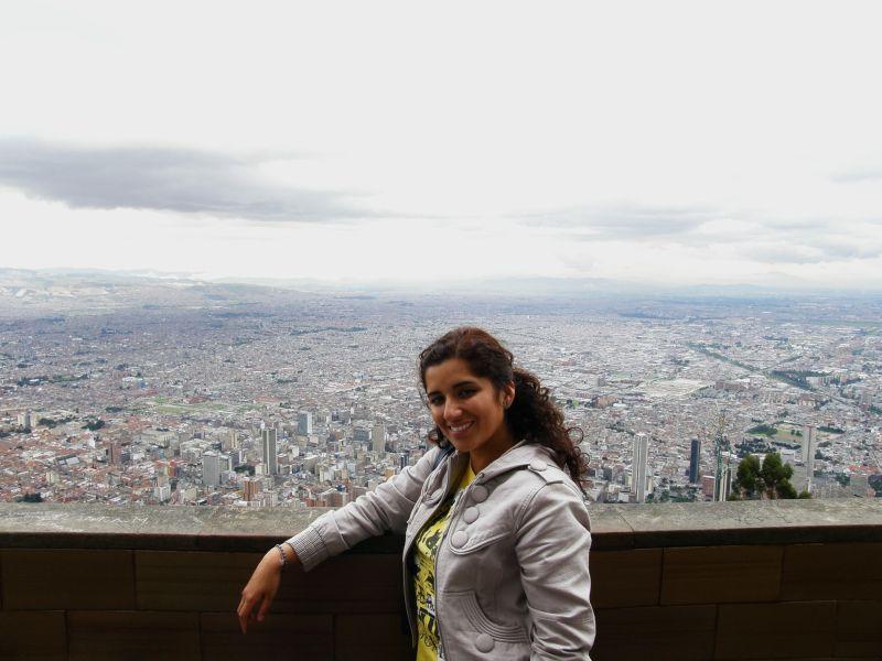 Bogoťanka nad Bogotou - Kolumbie