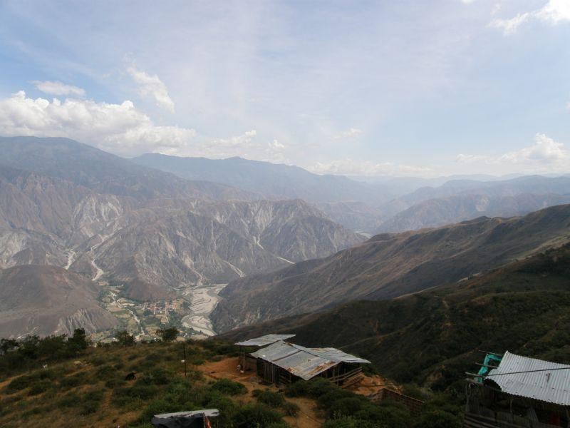 cestou do San Gil - Kolumbie