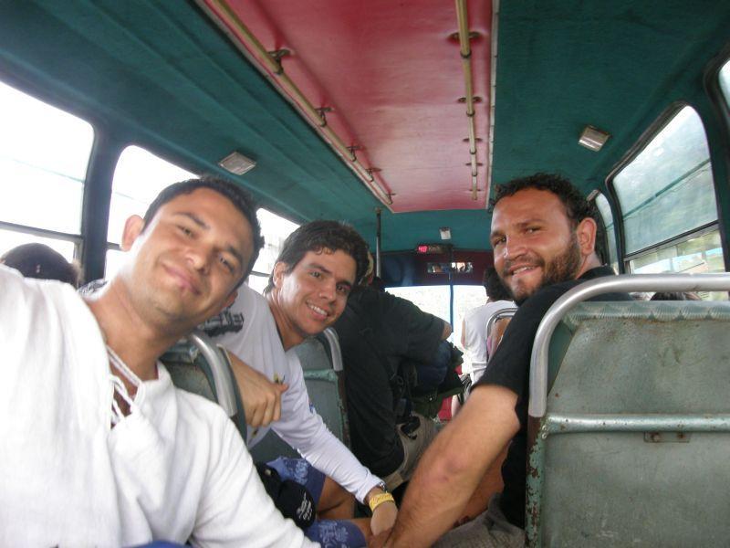 Cestou zpět do Santa Marty - Kolumbie