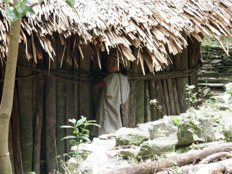 malý indián - Kolumbie