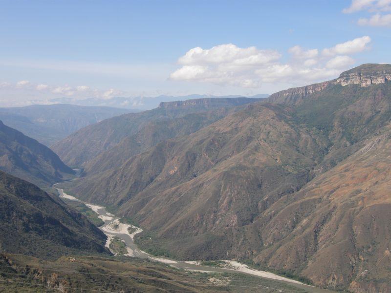 Národní park Chicamocha - Kolumbie