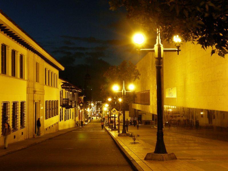 Noční Bogota 3 - Kolumbie
