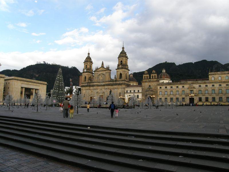 Plaza Bolívar - Kolumbie