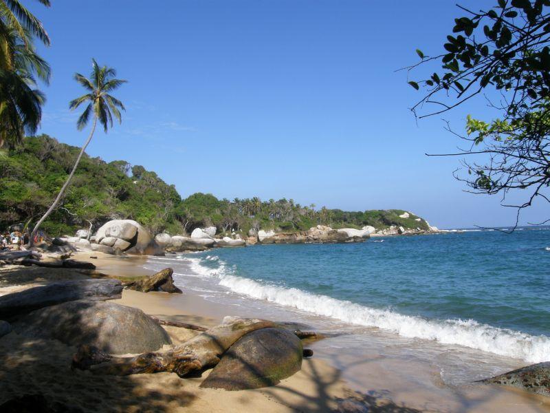 pláže v Tayroně 2 - Kolumbie