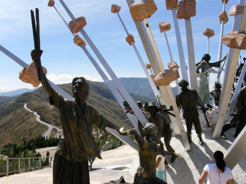 sochy v Chicamocha 2 - Kolumbie