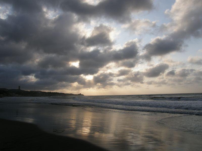 soumrak nad Barranquillou - Kolumbie
