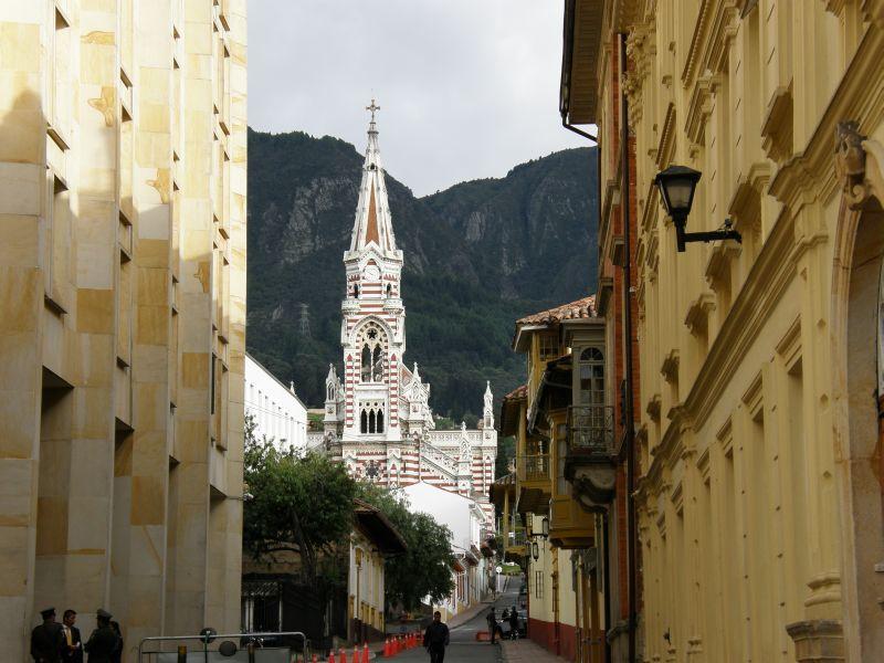 Staré centrum Bogoty - Kolumbie