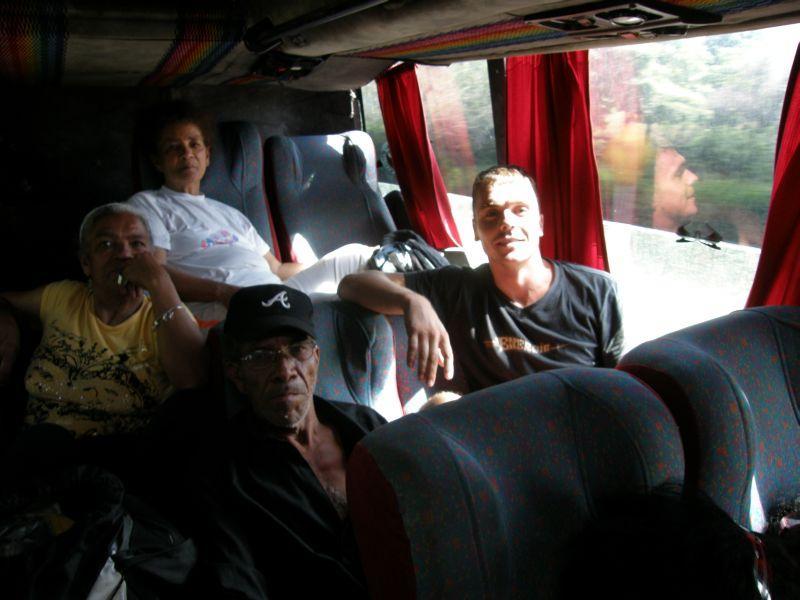 V tomhle autobuse jsem strávil až příliš mnoho času - Kolumbie