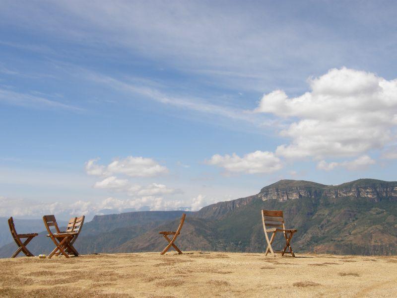 židle - Kolumbie