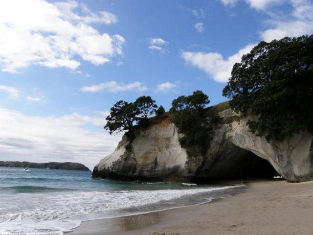 Cathedral Cove 3 - Nový Zéland