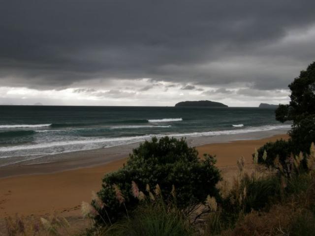 Pláž na Coromandel - Nový Zéland