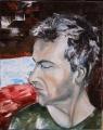 Andrej drug moj - olejomalba, obraz