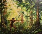 Selva hunter II - paintings