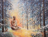 Stillness - oil painting