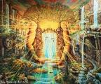 Gaia reborn - olejomalba, obraz