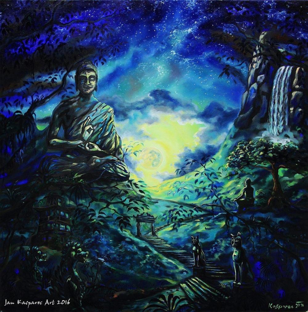 Obraz - Buddha Journey