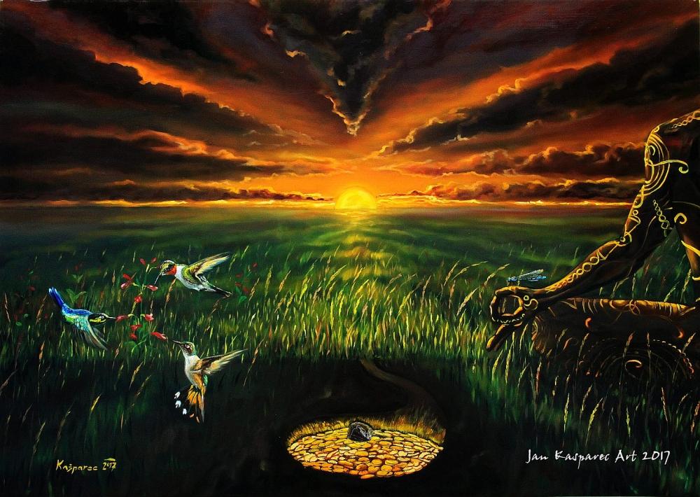 Obraz - Zlatá myš