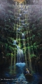Magical Waterfall - oil painting