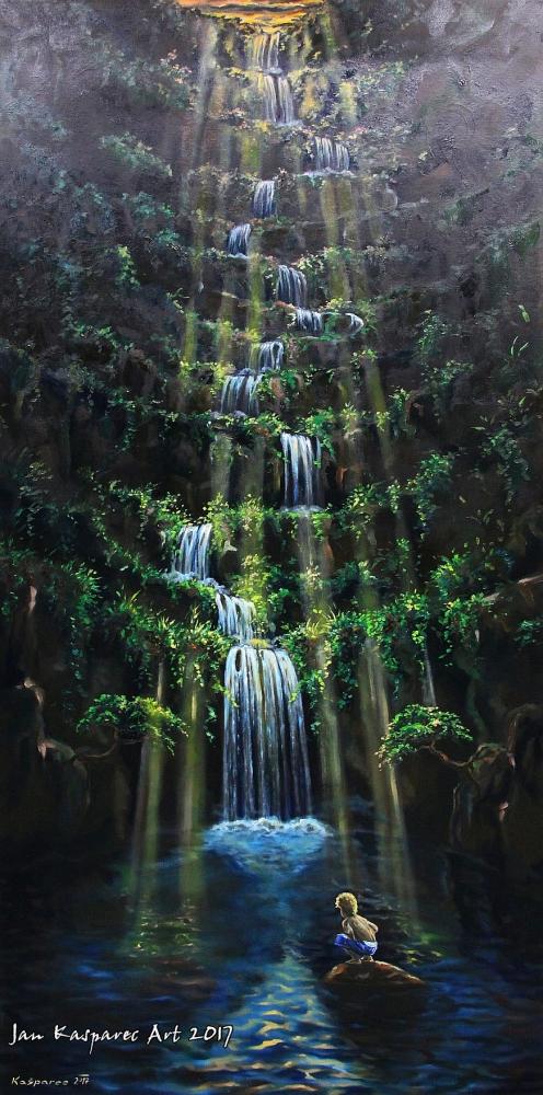 Obraz - Kouzelný vodopád