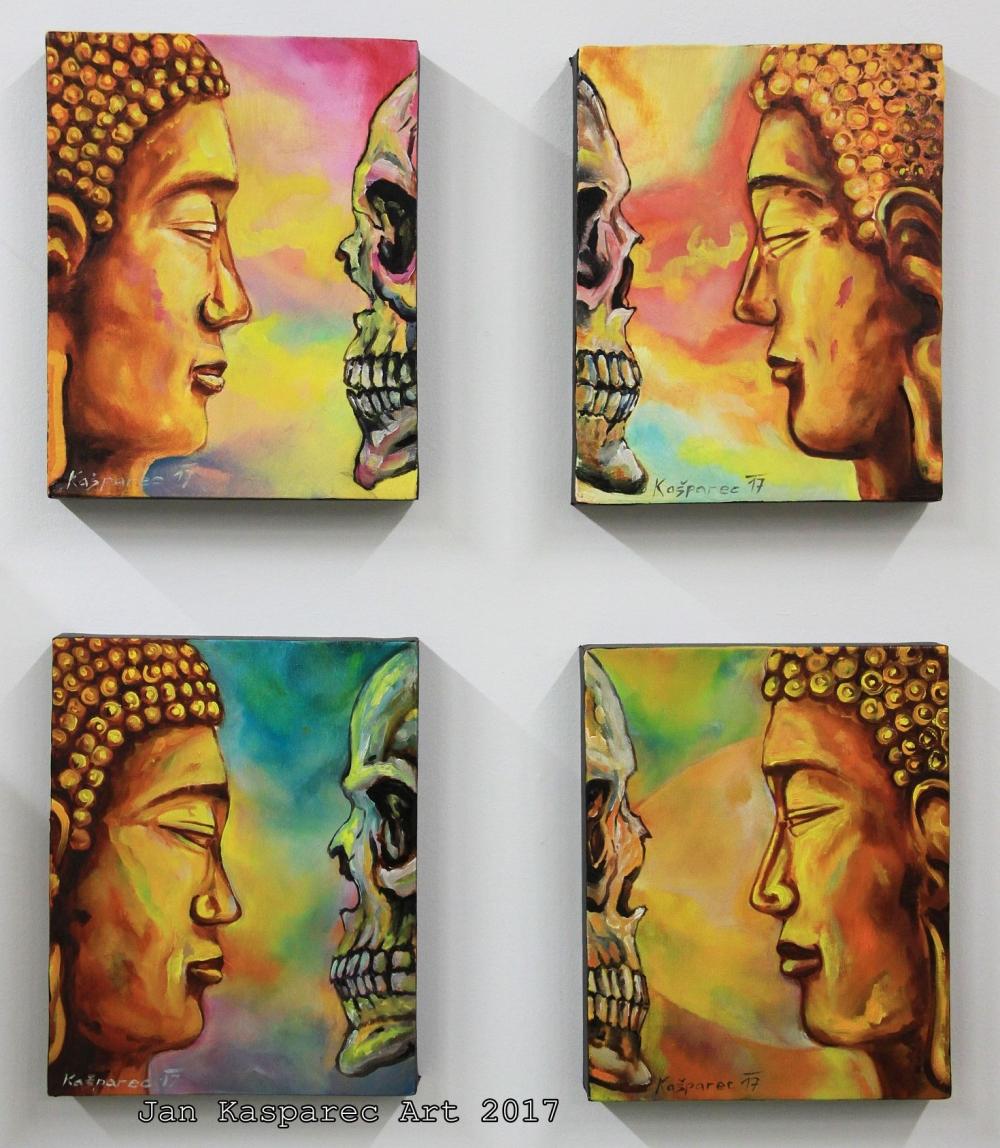Obraz - Buddha Skull Study