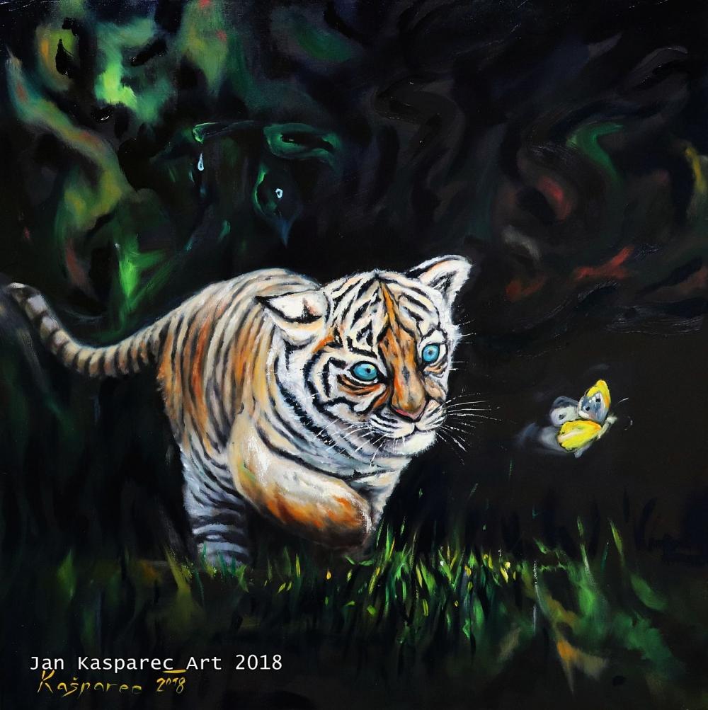 Obraz - Chasing Butterfly