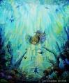 Dreamfish - olejomalba, obraz