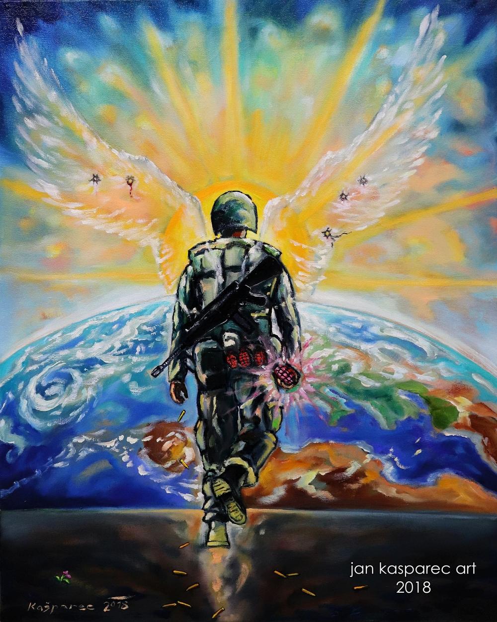 Oil painting - Love Grenade