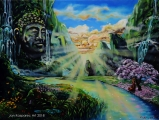 Little Big Buddha - paintings