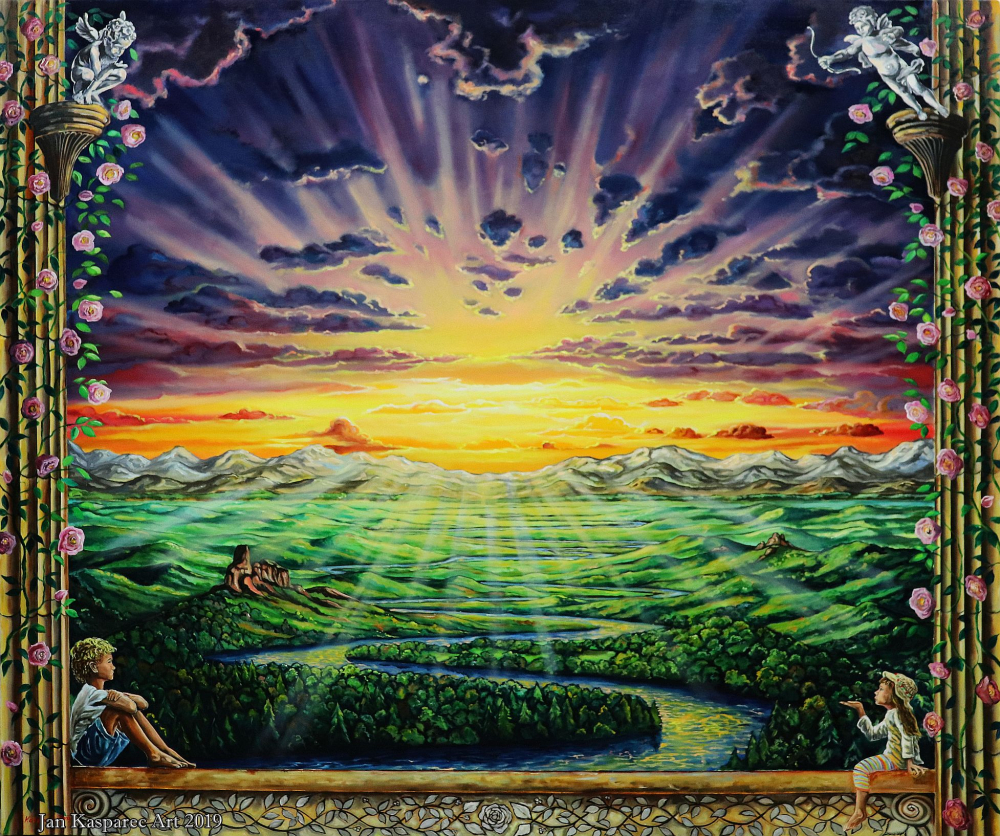 Obraz - Window to Paradise