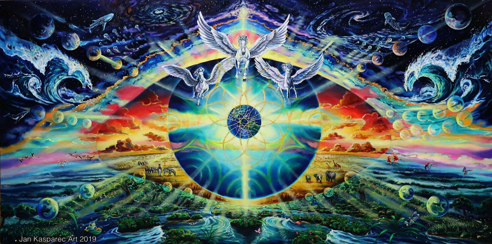Obraz - God`s eye 2