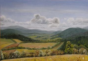The view from Adam - oil painting