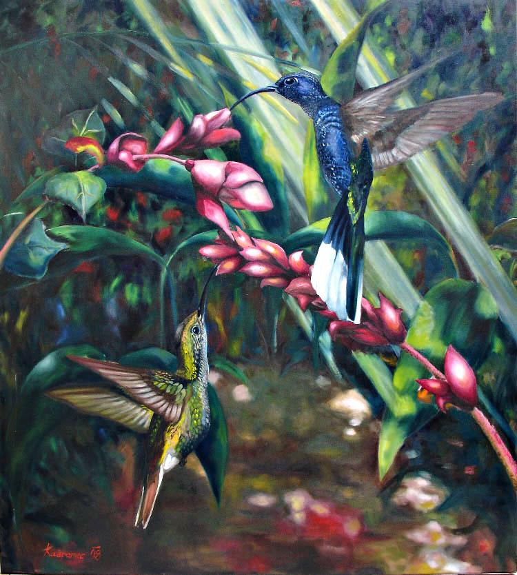 Obraz - Kolibříci