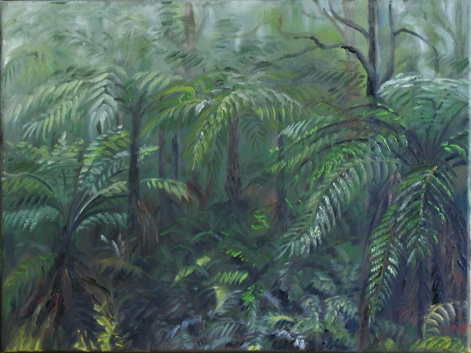Oil painting - Victoria forest I